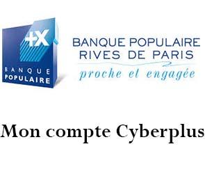 Banque Populaire Rives de Paris mon compte