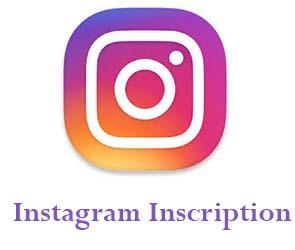 inscription instagram sur pc