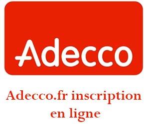 www.adecco.fr inscription en ligne