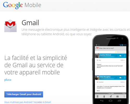 application gmail android