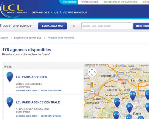 contact banque lcl