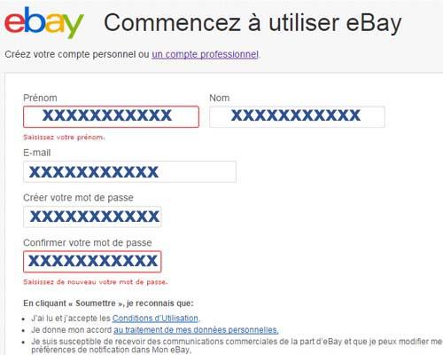 ebay compte pro