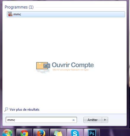 ouvrir compte utilisateur windows