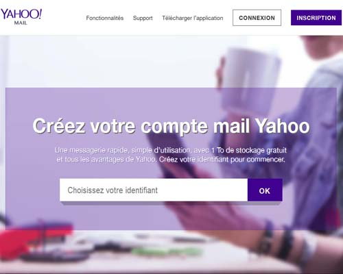 Ouverture compte yahoo mail