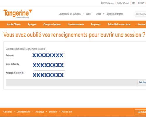 ouvrir compte tangerine bank