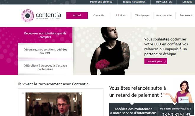 espace client contentia.fr