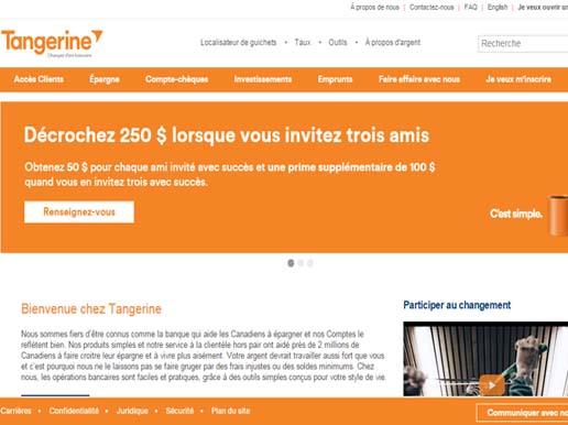 espace client tangerine en ligne