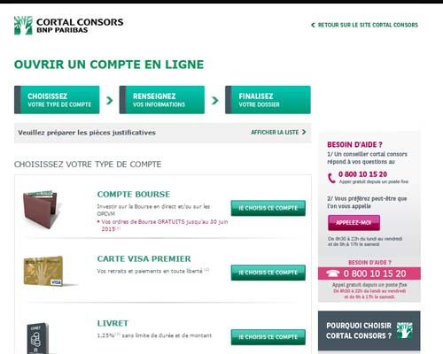services cortal consors en ligne