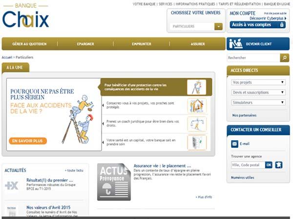 ouvrir compe banque chaix en ligne