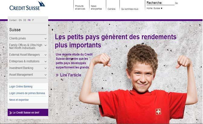 ouvrir compte crédit suisse
