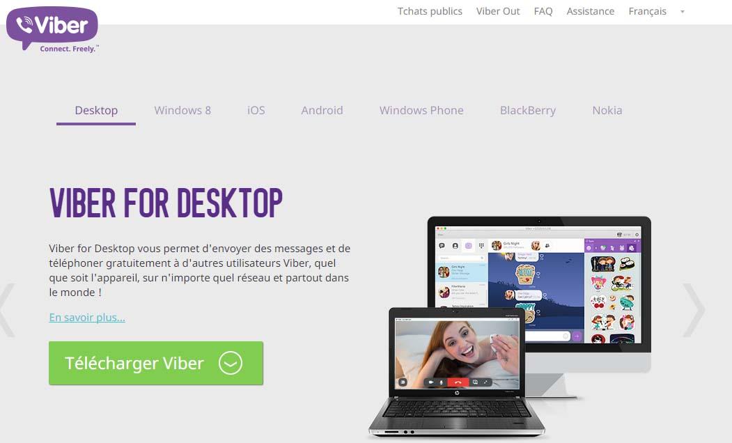 créer compte viber gratuit