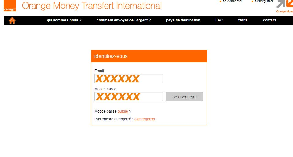 ouvrir compte orange money