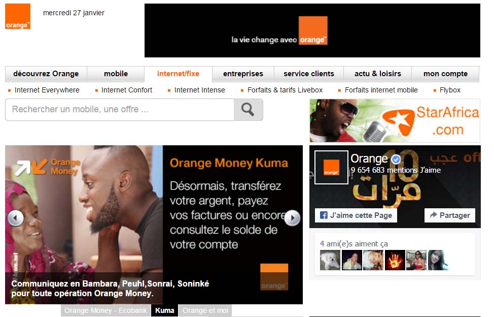 offre orangemali