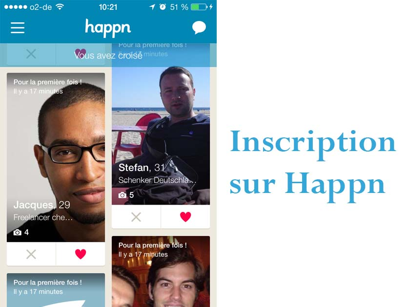 application de rencontre Happn