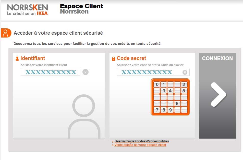 accès espace client norrsken