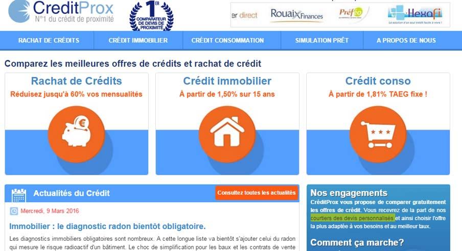 comparateur de devis Creditprox