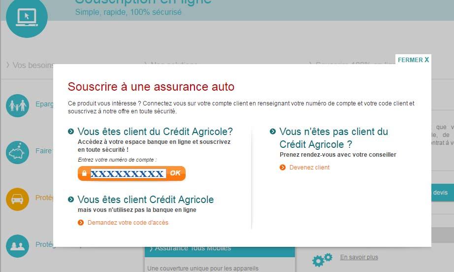 mon compte Crédit Agricole d'Ile de France en ligne