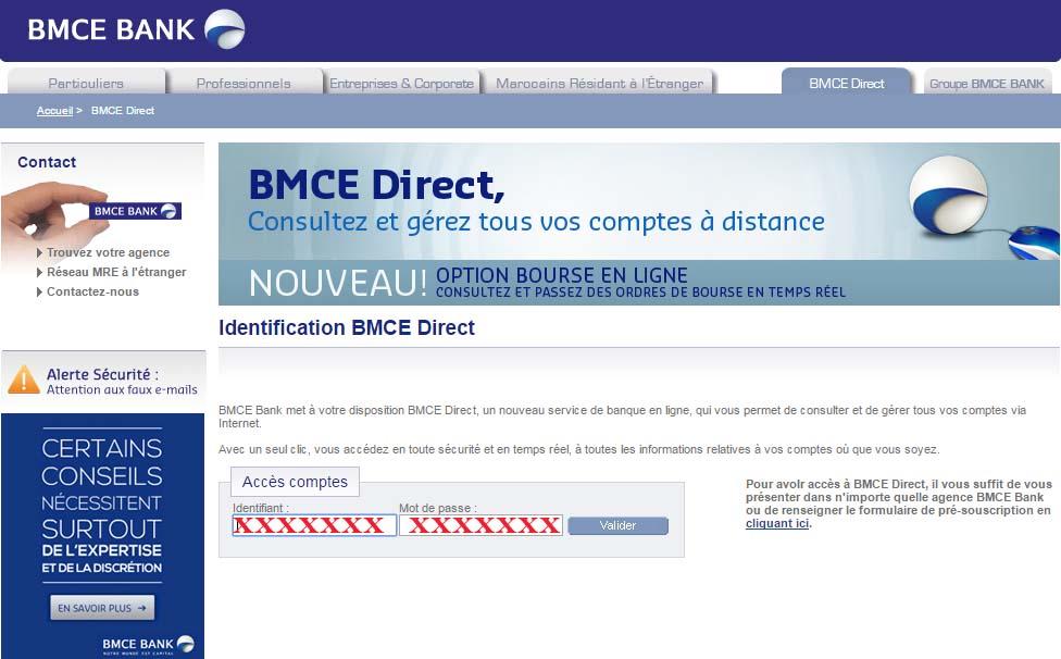 bmce direct identification