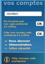 Banque Laydernier en ligne