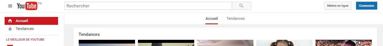 youtube connexion