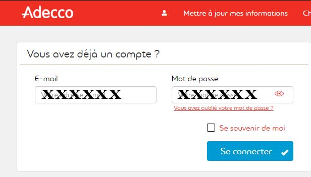 adecco fr inscription