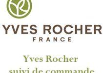 Yves Rocher suivi commande