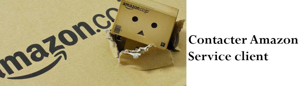 contacter Amazon par téléphone et mail