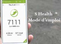 s health podmètre mode d'emploi