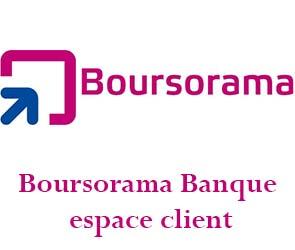 Boursorama Banque mon espace client