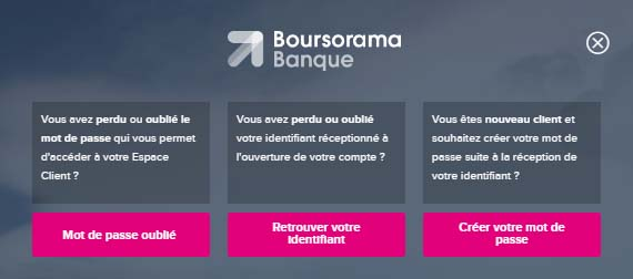 mon espace client boursorama banque en ligne. Black Bedroom Furniture Sets. Home Design Ideas