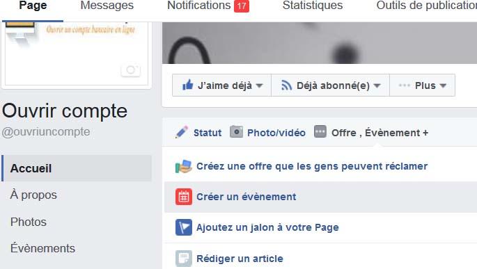 Comment créer un événement Facebook?