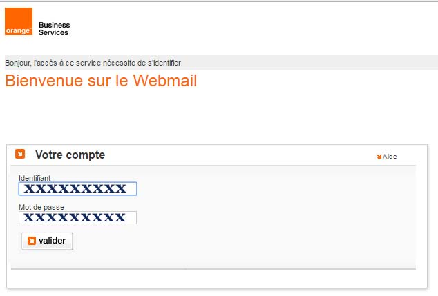 Webmail Orange Business