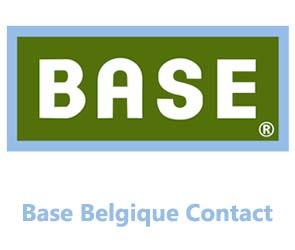 base Belgique contact service client