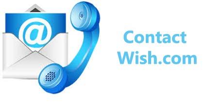 site wish.com contact