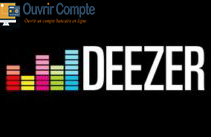 Ouvrir compte deezer