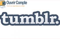 Créer compte Tumblr