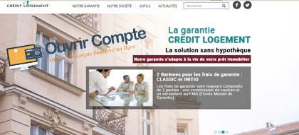 Creditlogement.fr garantie prêt immobilier