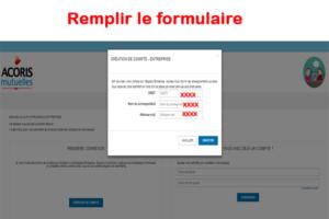 Remplissez formulaire de contact