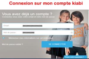 Connexion compte Kiabi