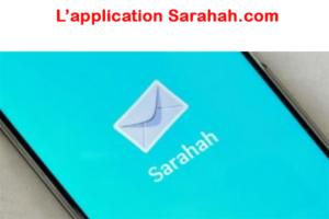 Application mobile Sarahah