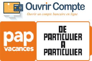 Ouvrir un compte papvacances.fr
