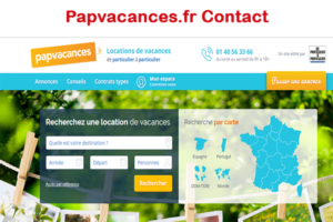 Papvacances.fr contact