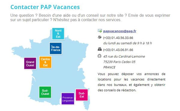 Service client Pap.fr