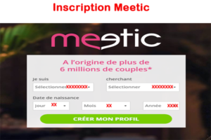 Meetic Inscription