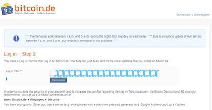 bitcoin.de Tuto ouverture