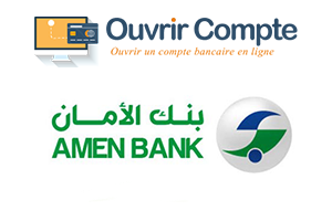 s'inscrire au service amen bank