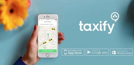 Taxify inscription
