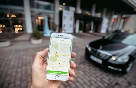 Taxify simulation