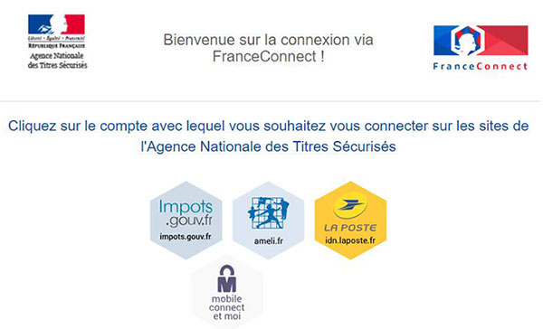 france connect ants