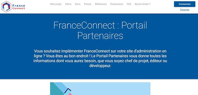 portail partenaire france connect